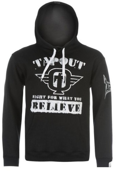 COD. FP-10_Felpa TAPOUT nera