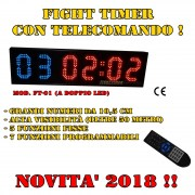 FIGHT TIMER da muro a doppio led_ mod. 20188