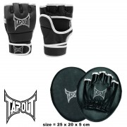 COD. CO-40_FOCUS PAD, colpitori in ecopelle dritti TAPOUT