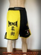 COD. SH-01_MMA Shorts - Dragone giallo