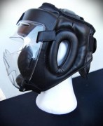 COD. CS-04_Casco Free Fight ECOPELLE con schermo