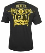 COD. TS-10_T-shirts TAPOUT nera/gialla